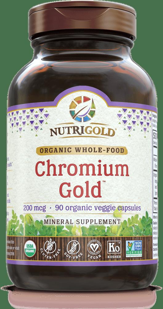 NutriGold Chromium Gold - 200 mcg