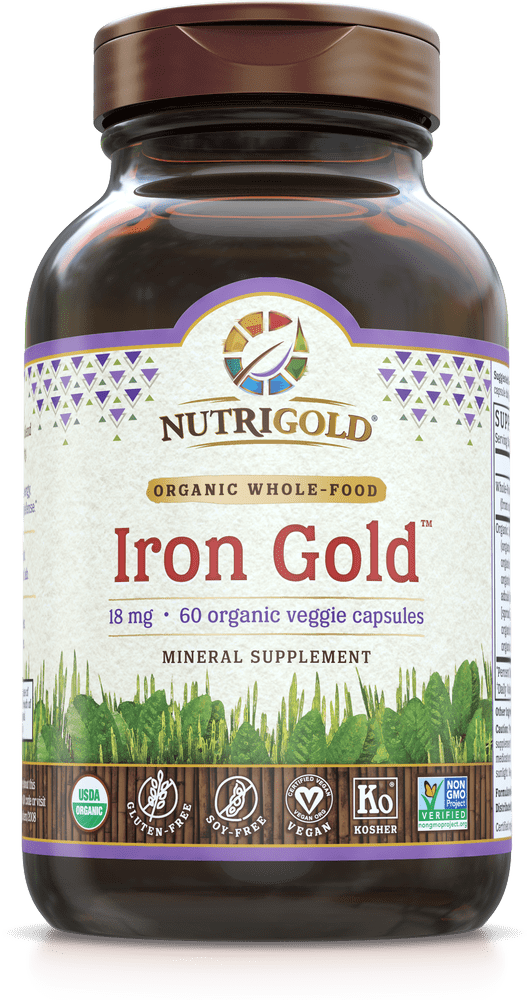 NutriGold Iron Gold - 18 mg