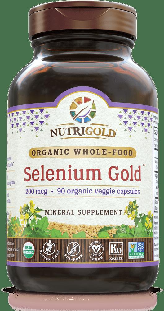 NutriGold Selenium Gold - 200 mcg
