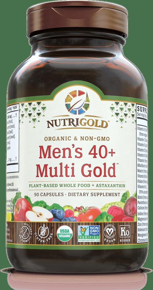 NutriGold Men's 40+ Multi Gold Multivitamin