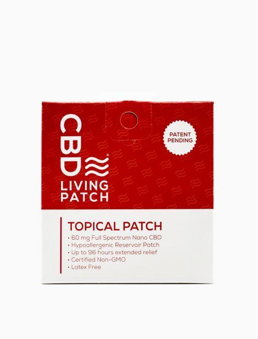 CBD Living - Topical 60mg CBD Pain Patch