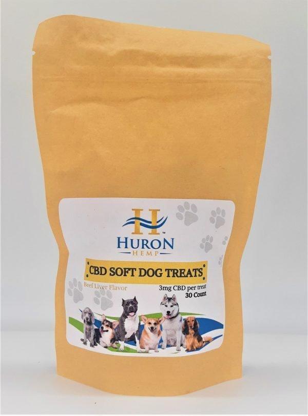 Huron Hemp CBD Dog Soft Chews