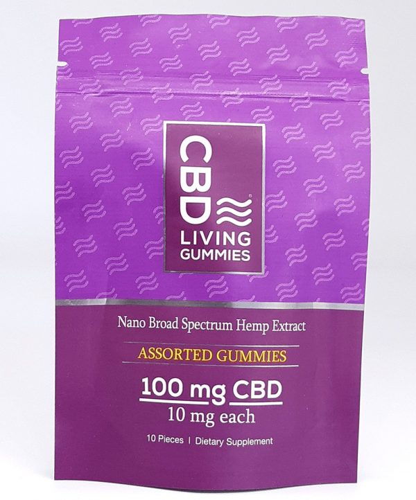 CBD Living - Gummy Bears **Very Convenient** 10mg per gummy