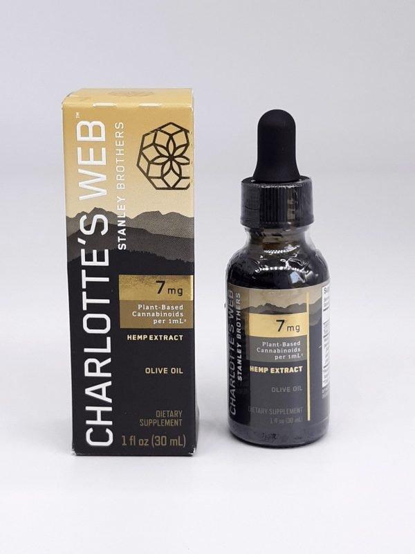Charlotte's Web CBD Oil 7mg per 1mL Hemp Extract. Olive Oil