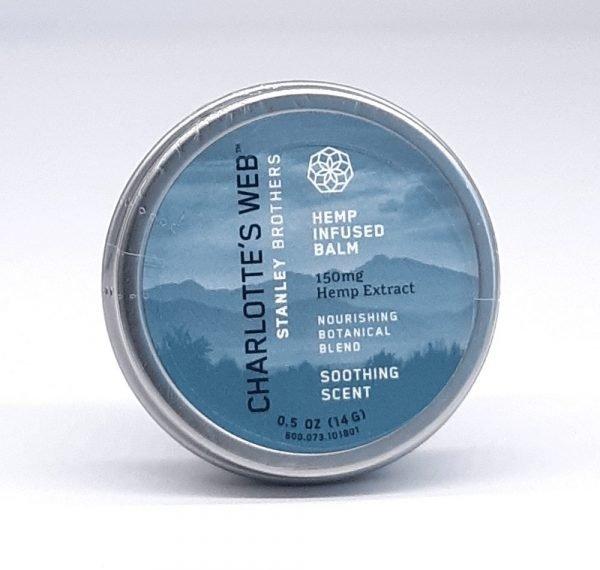 Charlotte's Web CBD Balm. 150mg Hemp Extract. Soothing Scent with nourishing botanical blend. 0.5oz
