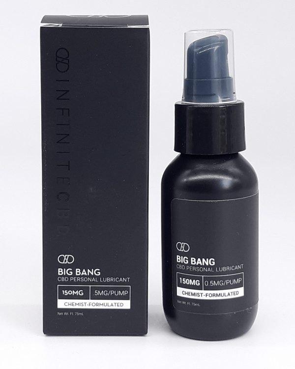 Infinite CBD Big Bang. CBD Personal lubricant. 150mg