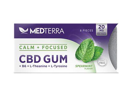 Medterra Calm + Focused CBD Gum