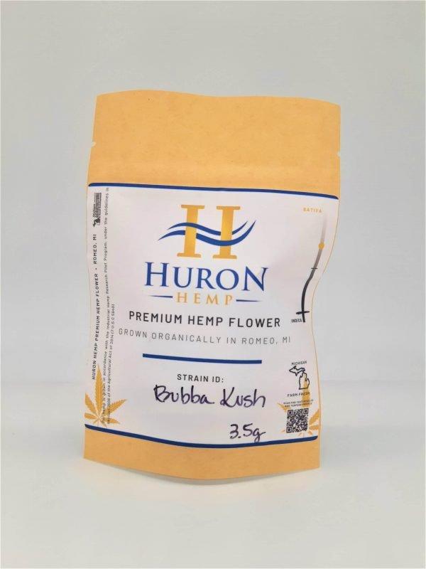 Huron Hemp Premium Hemp Bubba Kush