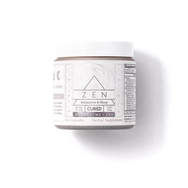 Cured Zen CBD Capsules