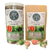 Tranquility Tea Company Apple Watermellow CBD Taffy