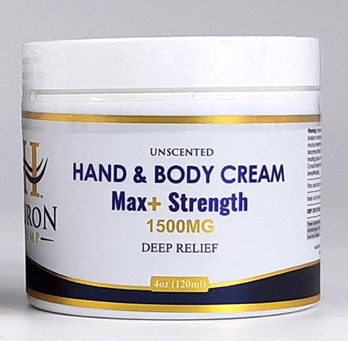 Huron Hemp Hand & Body CBD Cream 1500mg