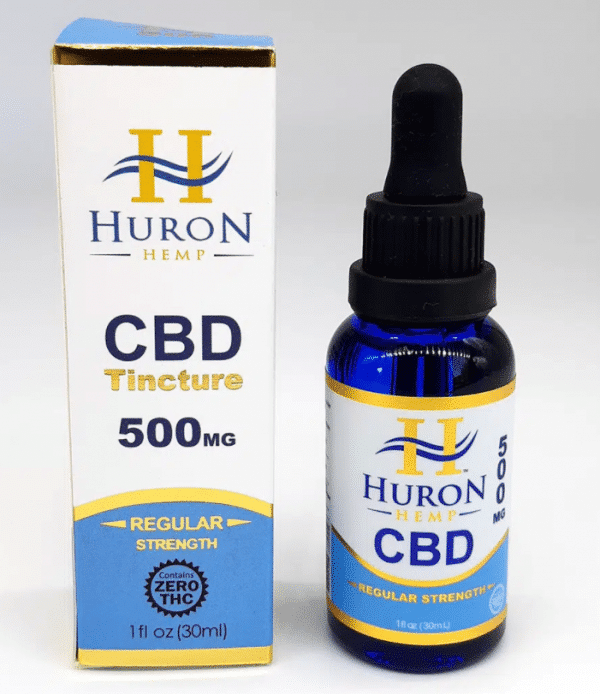Huron Hemp Pure CBD Oil 500mg