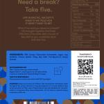 reverse five cbd sea-salt dark chocolate label